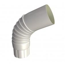 Отвод вентиляционный (гофра) д.100 (бел)