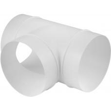 Тройник вентиляционный д.135*100 (бел)