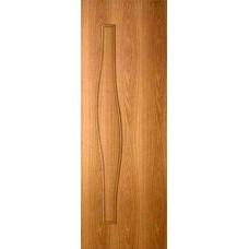 Дверь Волна ДГ 60 миланский орех