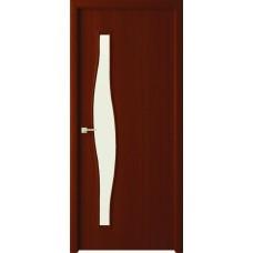 Дверь Волна ДО 60 итальянский орех