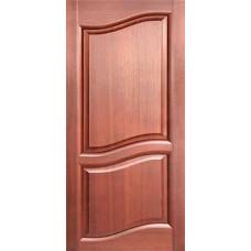 Дверь ПО 80см ПАРУС красное дерево