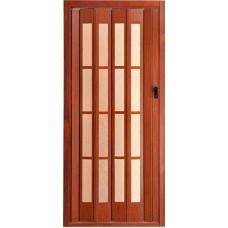 Дверь пластик(стекло)President glass Махагон №95