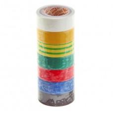 Изолента ПВХ Safeline Master 19/5 комплект 7 цветов