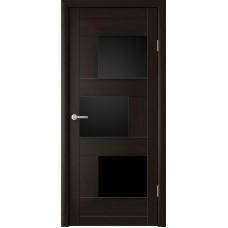 Дверь Стокгольм ДО80 кипарис темный/Арт-шпон/