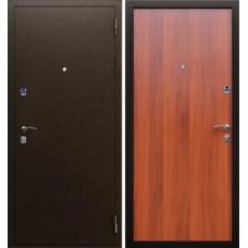 Дверь метал.Златомир 3 Медь Ольха 86R