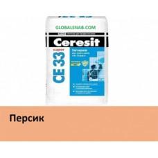Затирка д/ш CERESIT CE33 №28 персик 2кг (48593)