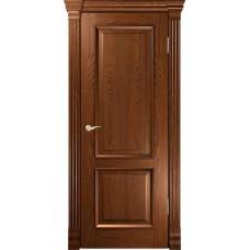 Дверь пластик(глухая)Expan door Дуб темный