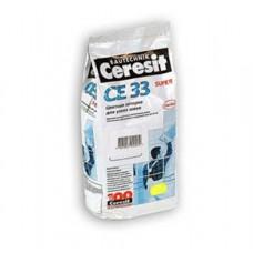 Затирка д/ш CERESIT CE33 №16 графит 2кг (48592)