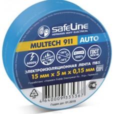 Изолента ПВХ Safeline Auto 19/5 в ассорт.