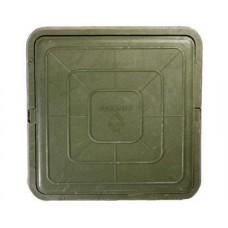 Люк полимерный легкий квадрат 470*470 3т
