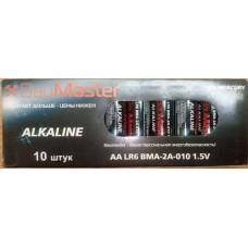 Батарейки Baumaster алкалиновая размер АА 1.5V Цена за 1шт.