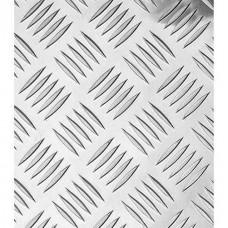 Лист алюминевый 300х1200х1,5 Лкв 01.05.00 рифленный Квинтет