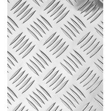Лист алюминевый 300х600х1,5 Лкв 02.05.00 рифленный Квинтет