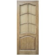 Дверь Романтика(М7) ДОФ 20-8 светлая с рамкой С-6-49 (стекло