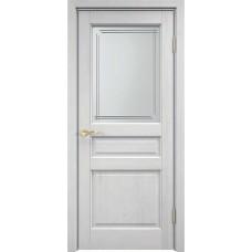 Дверь Марика(М5) эмаль белая ДОФ 20-8 (стекло