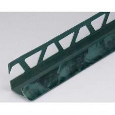 Уголок п/плитку 8мм 2,5м внутр Мрамор зеленый