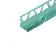 Уголок п/плитку 8мм 2,5м внутр Мрамор лазурный