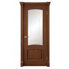 Дверь ДО 80 Натали  орех золотой