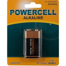 Аккум.батарея Alkaline L9V-1BPC тип