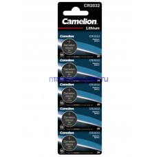 Батарейки Camelion CR2032 BL5 (20754) Цена за 1шт.