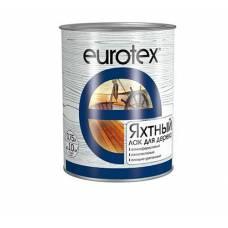 Лак EUROTEX 0,75л яхтный полуматовый Рогнеда (19296)