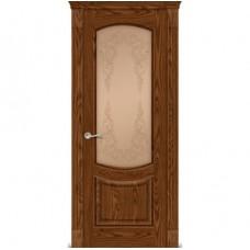 Дверь Италия ДО 70 Дуб моренный ст.бронза