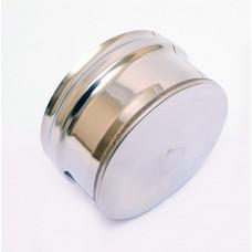 Заглушка 0,5мм ф130 внутр. Феррум (15861)