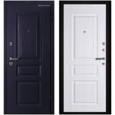 Дверь метал. XL 2,05*0,860 правая Манзония темная
