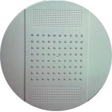 Душ верхний д/душ.кабин без подсветки 250мм круглый, белый пластик ERLIT 0911045102 (31811)