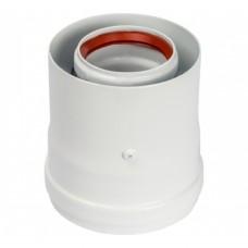 Адаптер KRATS вертикальный ф60/100 (Baxi, Ariston, Vaillant, Viessmann) VA-01B (51446)