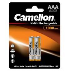 Аккумулятор Camelion R03 1000-mAh Ni-MH BL2 (22229)