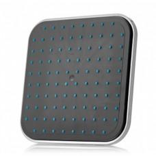 Душ верхний д/душ.кабин без подсветки 180мм квадрат, черный пластик ERLIT (0911020001)
