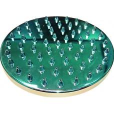 Душ верхний д/душ.кабин без подсветки 150мм круглый, хром пластик ERLIT (0911015003)