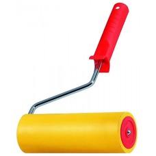 Валик д/обоев 150мм резин. желтый (02977)