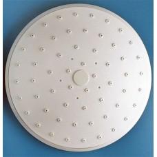 Душ верхний д/душ.кабин без подсветки 150мм круглый, белый пластик ERLIT (0911015004)
