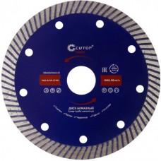 Диск алмаз CUTOP Profi 125х2,3х10х22,23мм сегмент. (65-12523)