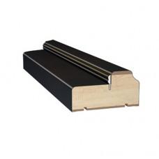 Коробка ПВХ Voron Doors с уплотнителем Венге
