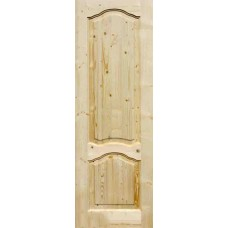 Двери Каролина ДГ21-10-90см (массив сосны) с коробкой