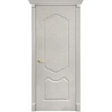 Дверь ПВХ Бета 80см Беленый дуб Сатин 3D