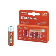 Батарейки Alkaline LR03 РАК-8 SQ1702-0004 (234457) Цена за 1шт.