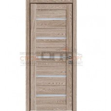 Дверь ПВХ Бета 80см Капучино Сатин 3D