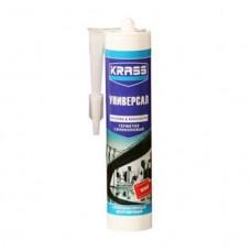 Герметик KRASS силикон универ. 300мл белый (0005373)