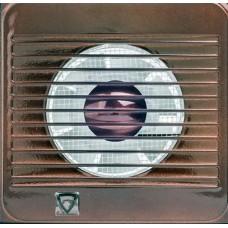Вентилятор настенный Event 100C d100 13Вт Шоколад (311203)