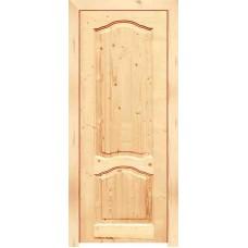 Двери Каролина ДГ21-7-60см (массив сосны) с коробкой